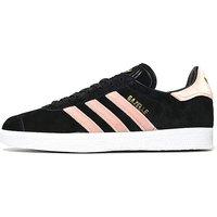 adidas Originals Gazelle Womens - Black/Pink - Womens