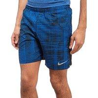 Nike Challenger 7 Performance Shorts - Blue - Mens