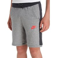 Nike Air Fleece Shorts Junior - Carbon/Red - Kids