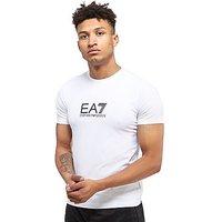 Emporio Armani EA7 Carbon Print T-Shirt - White - Mens