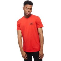 Emporio Armani EA7 Core T-Shirt - Red - Mens