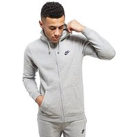 Nike Foundation Full Zip Hoody - Dark Grey/Obsidian - Mens