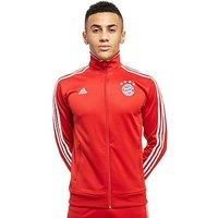 adidas FC Bayern Munich 3-Stripe Track Top - Red - Mens