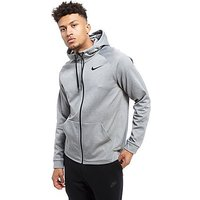 Nike Train Full Zip Hoody - Grey/Black - Mens