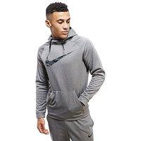 Nike Train Therma Hoody - Grey - Mens