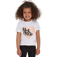 McKenzie Girls Holly Crop T-Shirt Children - White - Kids