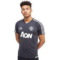 adidas Manchester United 2017 Training Shirt - Dark Grey - Mens