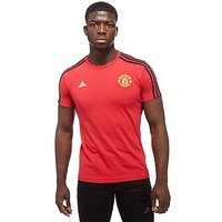 adidas Manchester United FC Graphic T-Shirt - Red - Mens