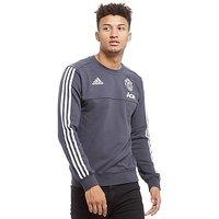 adidas Manchester United 2017 Sweatshirt - Grey - Mens