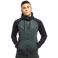 Nike Tech Fleece Windrunner Hoodie - Green/Black - Mens