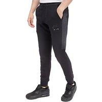 Nike Air Deep Cuff Fleece Pants - Black/Grey - Mens