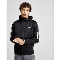 Nike Tribute Full Zip Poly Hoody - Black/White - Mens