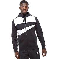 Nike Hybrid Full Zip Hoody - Black - Mens