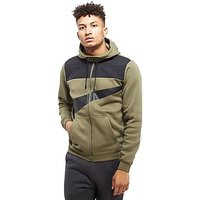 Nike Hybrid Full Zip Hoody - Olive/Black - Mens