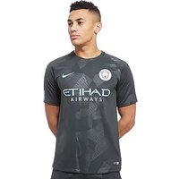 Nike Manchester City FC 2017/18 Third Shirt - Green - Mens