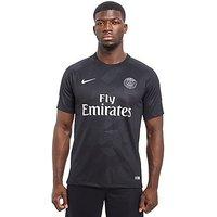 Nike Paris Saint Germain 2017/18 Third Shirt - Black - Mens
