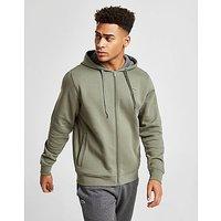 Lacoste Full Zip Hoody - Army Green - Mens