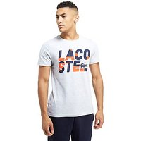 Lacoste Sport Text T-shirt - White - Mens