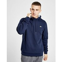 Lacoste Sport Fleece Hoody - Navy/Grey - Mens