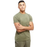Lacoste Embossed Croc T-Shirt - Army Green - Mens