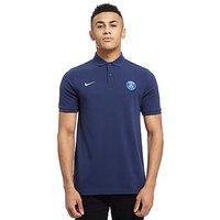 Nike Paris Saint-Germain Core Polo Shirt - Navy - Mens