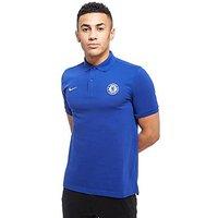 Nike Chelsea FC 2017 Core Polo Shirt - Blue - Mens