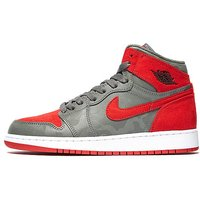 Jordan 1 Retro Hi Junior - Red/Grey - Kids