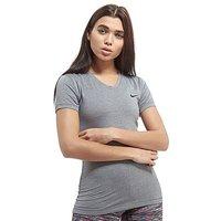 Nike Pro Dri-Fit Top - Grey - Womens