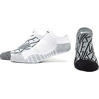 Nike Dry Cushion GFX Training Socks - White/ Black/ Grey - Womens