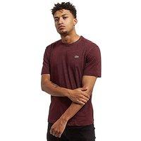 Lacoste Croc T-Shirt - Burgundy/MRL - Mens