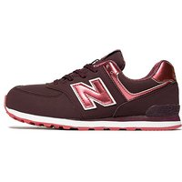 New Balance 574 Junior - Burgundy - Kids