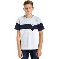 Lacoste Panel T-Shirt Junior - White/Grey - Kids
