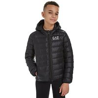 Emporio Armani EA7 Core Down Jacket Junior - BLK/BLK - Kids