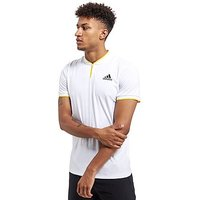 adidas London Polo Shirt - White - Mens