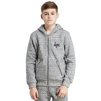 Hype Zip Pocket Hoodie Junior - Grey/Black - Kids