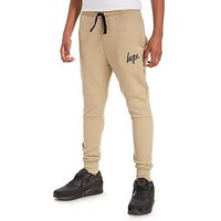 Hype Slim Jogging Pants Junior - Sand/Black - Kids