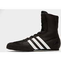 adidas Box Hog Boxing Boots - Black/White - Mens