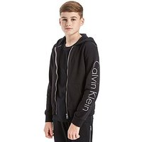 Calvin Klein Full Zip Hoodie Junior - Black/Grey - Kids