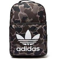 adidas Originals Classic Camo Backpack - Black/Grey - Kids