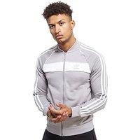 adidas Originals Superstar Poly Track Top - Grey/White - Mens