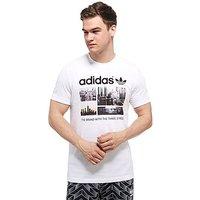 adidas Originals Trefoil Photo T-Shirt - White/Black/Photo Colour - Mens