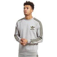adidas Originals California Crew Sweatshirt - Grey/Cargo - Mens