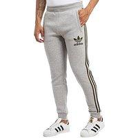 adidas Originals California Fleece Pants - Mid Grey Heather/Cargo - Mens