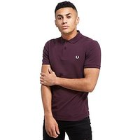 Fred Perry Plain Polo Shirt - Bramble - Mens