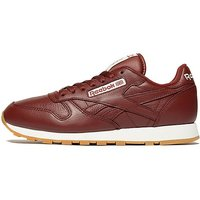 Reebok Classic Leather - Maroon/White - Mens