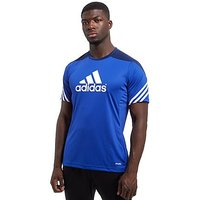 adidas Sereno Logo T-Shirt - Blue/White - Mens