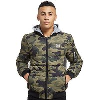 Supply & Demand Percy Reversible Bomber Jacket - Camouflage - Mens