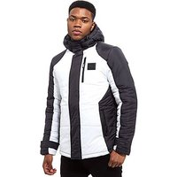 Supply & Demand Soll Jacket - Black/White - Mens