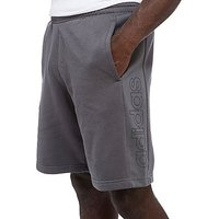 adidas Linear Fleece Shorts - Grey - Mens