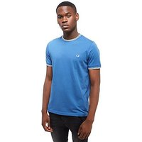Fred Perry Tipped T-Shirt - Blue/White - Mens